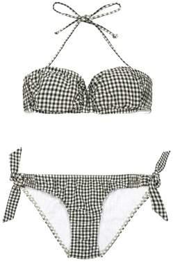 Sale - Caspienne Gingham Bikini - Cuisse de Grenouille