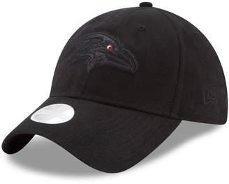 New Era Women's Baltimore Ravens 9TWENTY Team Glisten Adjustable Cap