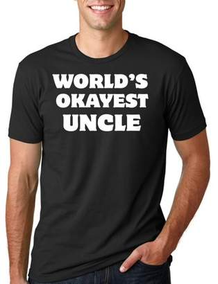 Silk Road Tees Funny Uncle T-shirt Gift for Uncle Funny Tee Shirt Medium Gray