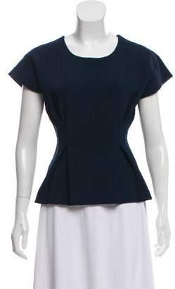 J Brand Knit Short Sleeve Top
