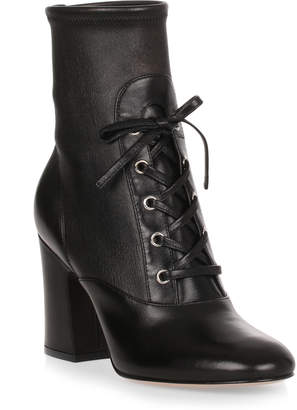 Gianvito Rossi Palmer 85 black leather boot