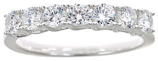 Affinity Diamond Jewelry 7-Stone Diamond Band Ring, 14K Gold, 1.00 cttw,