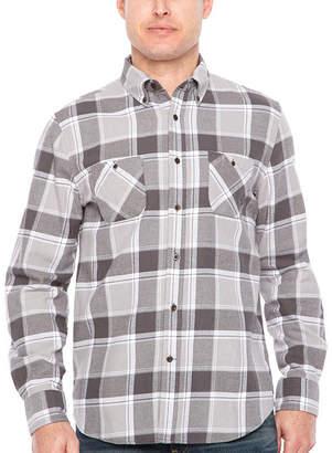 M·A·C Big Mac Long Sleeve Flannel Shirt-Big