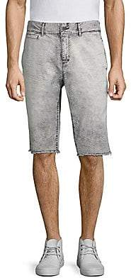 PRPS Men's Faded Twill Denim Shorts
