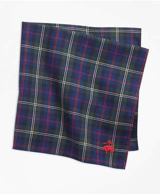 Brooks Brothers Malcolm Tartan Pocket Square