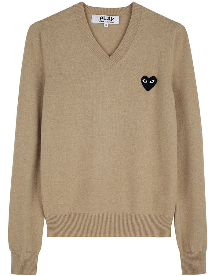 Comme Des Garçons Play / Black Emblem Sweater