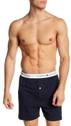 Tommy Hilfiger Knit Cotton Boxer $24 thestylecure.com