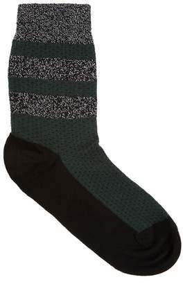 Pierre Mantoux Velia Dark Green Jersey Socks