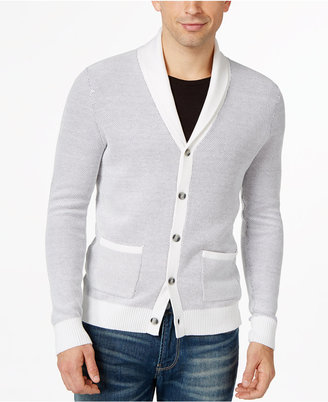 INC International Concepts Men's Cleat Hitch Cardigan, Only at Macy's $65 thestylecure.com