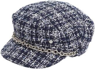 Maison Michel New Abby Tweed Captain's Hat