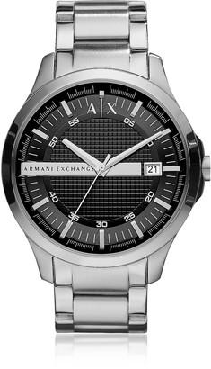 Armani Exchange Hampton Silver Tone Men's Watch
