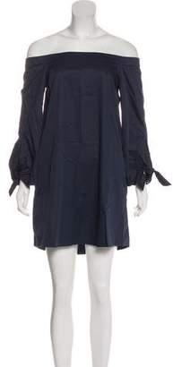 Tibi Off-the-Shoulder Tent Dress