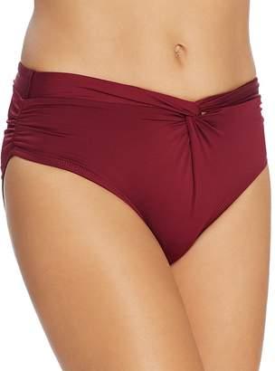 Carmen Marc Valvo Weave Hipster Bikini Bottom