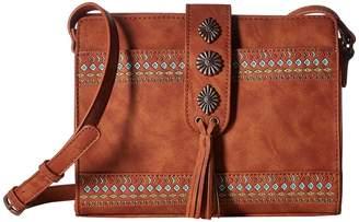 American West Del Rio Zip Top Crossbody Cross Body Handbags