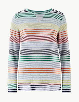 Marks and Spencer Rainbow Print Lounge Top