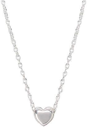 Gorjana Adjustable Heart Charm Necklace