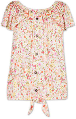 Speechless Girls Scoop Neck Short Sleeve Graphic T-Shirt - Big Kid