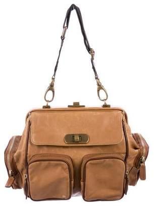 Marni Leather Zipper Shoulder Bag