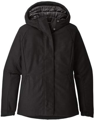 Patagonia Women's Insulated Recycled Wool Hoody