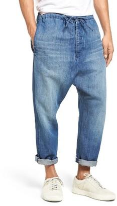 Men's Vince Drawstring Denim Pants $225 thestylecure.com