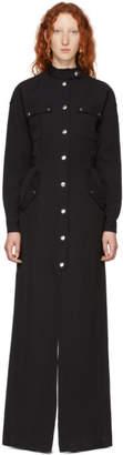 Kwaidan Editions Black Twill Overall Dress
