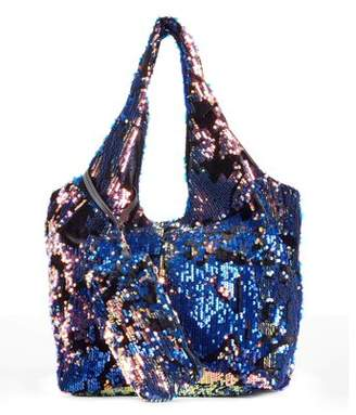 Metallic Sky Women's Sunday Sequin Tote