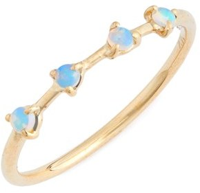 Women's Wwake Counting Collection 4-Step Opal Ring $420 thestylecure.com