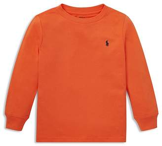 Polo Ralph Lauren Boys' Long-Sleeve Cotton Tee - Little Kid
