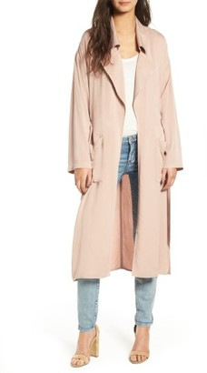 Women's Leith Duster Jacket $89 thestylecure.com