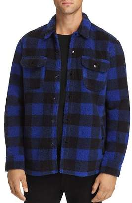 Levi's Plaid Double-Faced Sherpa Shirt Jacket
