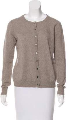 Lanvin Knit Button-Up Cardigan