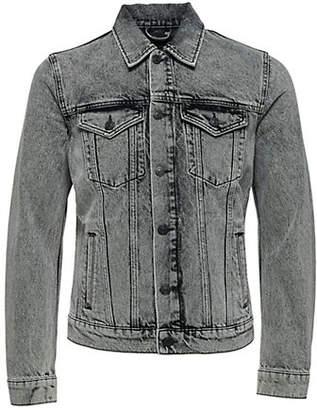Selected Jeffrey Hawaii Denim Jacket