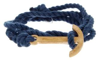 Miansai Modern Anchor on Rope Bracelet