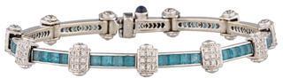 CharriolCharriol 4.00ctw Topaz & Diamond Bracelet