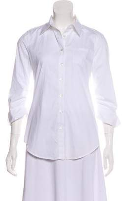 Elizabeth and James French Cuff Button Top
