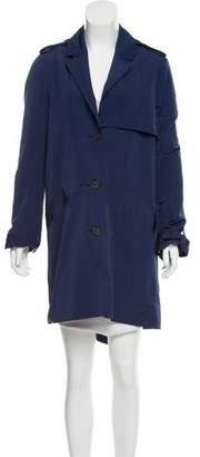 Derek Lam Knee-Length Button-Up Coat