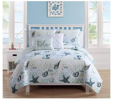 VCNY Blue Shore Life Quilt Set - VCNY®