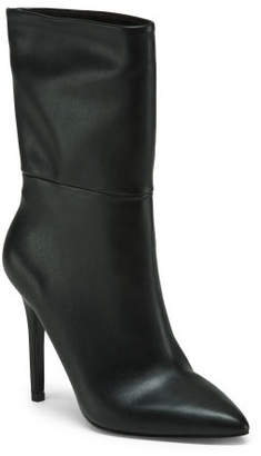 Stiletto Heel High Ankle Booties