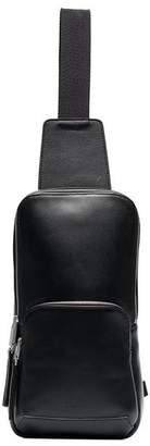 Alyx black rollercoaster buckle leather crossbody bag