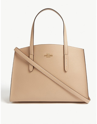 Coach Charlie leather tote bag