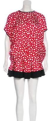Louis Vuitton Silk Skirt Set