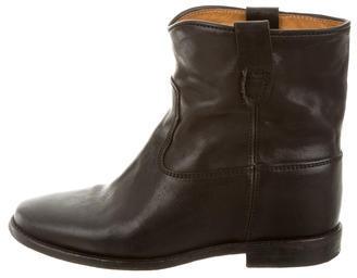 Isabel MarantIsabel Marant Crisi Round-Toe Ankle Boots