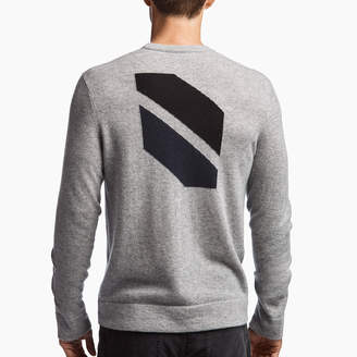 James Perse CASHMERE GRAPHIC SWEATER