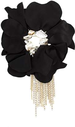 Lanvin floral brooch