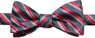 Jf J.Ferrar Stripe Bow Tie