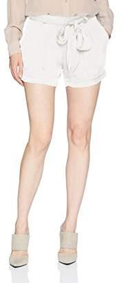 Halston Women's Tie Waist Shorts