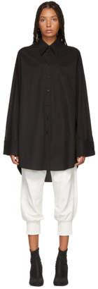 MM6 MAISON MARGIELA Black Long Shirt