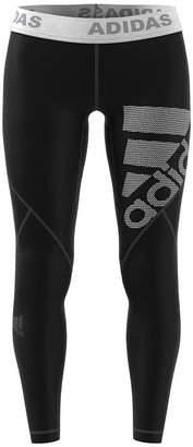 adidas Alphaskin Logo Long Tight Knit Leggings