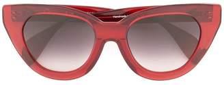Oscar de la Renta Holly Audrey large sunglasses