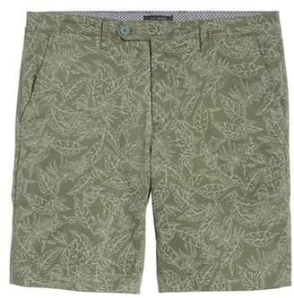 Ted Baker Leaf Print Shorts